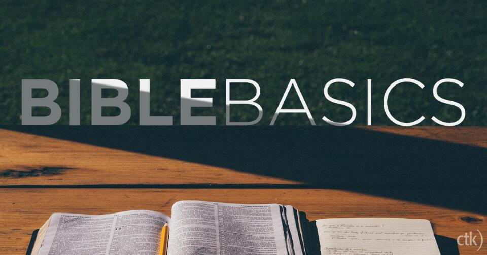 Bible Basics Class
