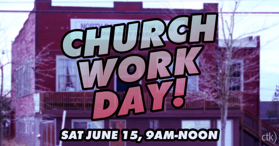 Church Work Day