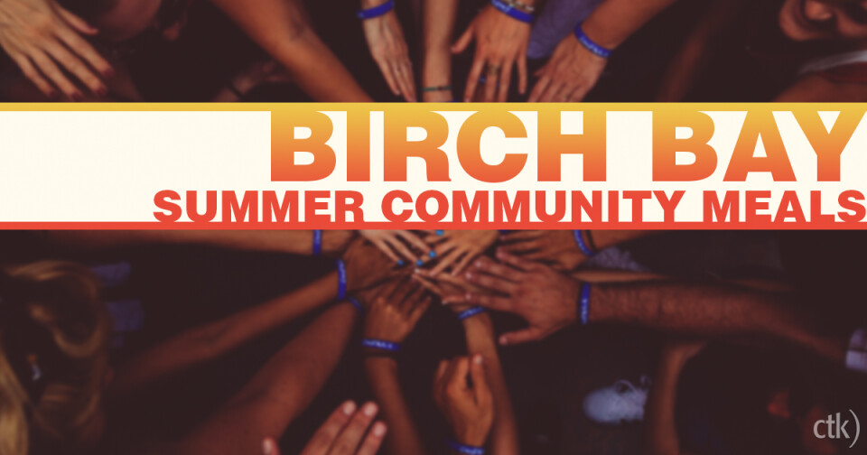 Birch Bay Summer Community Meals