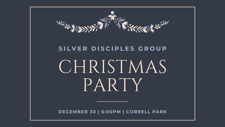 Silver Disciples Christmas Party